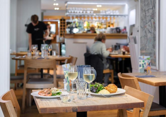 Rick Stein's Cafe, Padstow, Cornwall