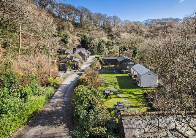 Things to do in Cornwall | Carnglaze Slate Caverns and Woodland Garden | St Neot |  Cornwall
