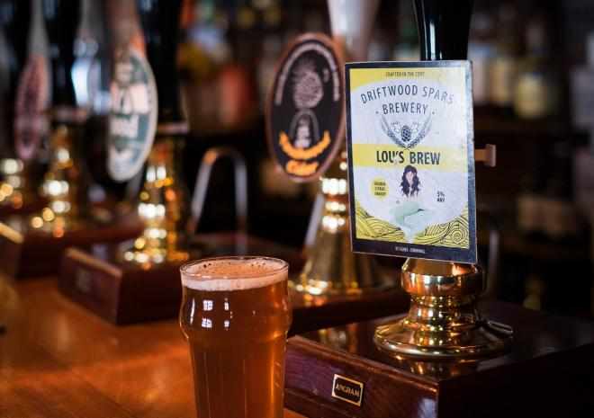 The Driftwood Spars is an award-winning pub