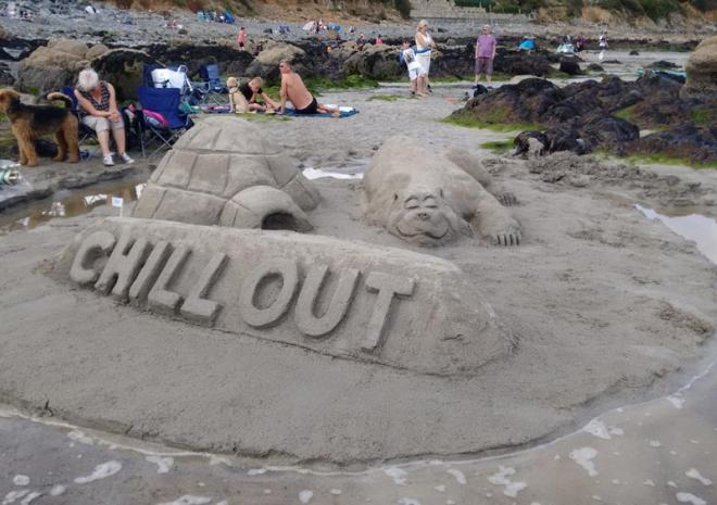 Chill out in Coverack