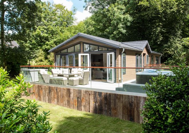 Clowance, Clowance Estate, Luxury Lodges, Self Catering, Hot tub, Family, Romantic, Lodge, Resort, Cornwall, Holiday, Iconic Collection