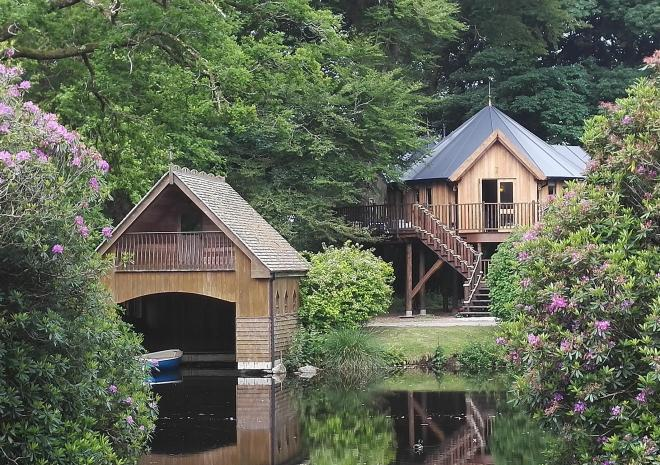 Clowance, Clowance Estate, Luxury Lodges, Self Catering, treehouse, Tree House, Family, romantic, outdoor bath, Lodge, Resort, Cornwall, Holiday