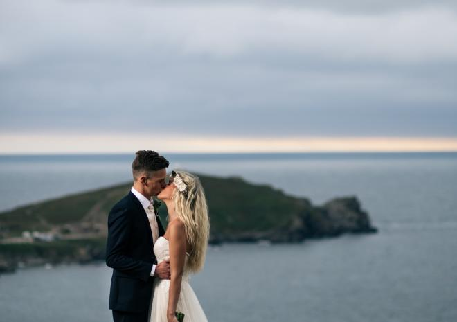 Sea View Wedding Venue Newquay Cornwall | Atlantic Hotel