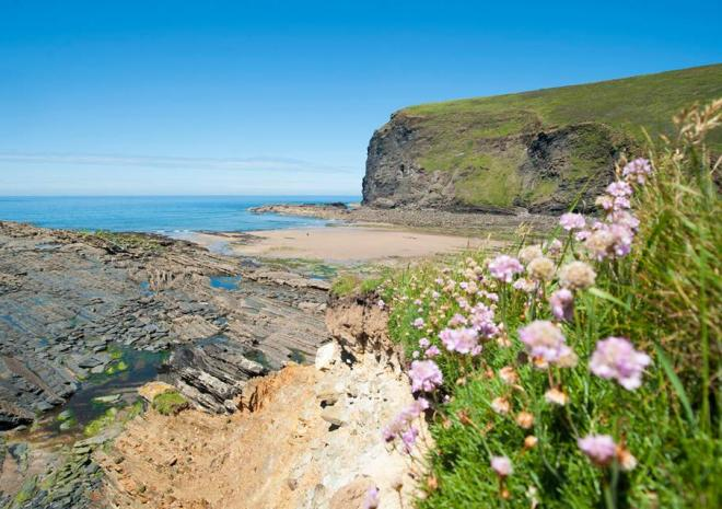 North Cornwall Beaches | Crackington Haven Beach