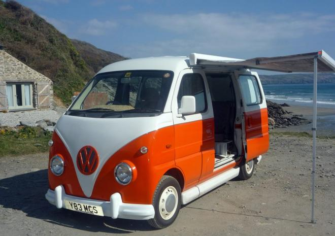 Kernow Kampers, Motorhome hire in Cornwall