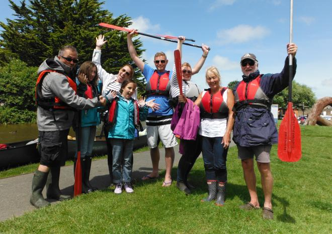 Bude Canoe Experience, Canoeing on the Bude Canal, Cornwall