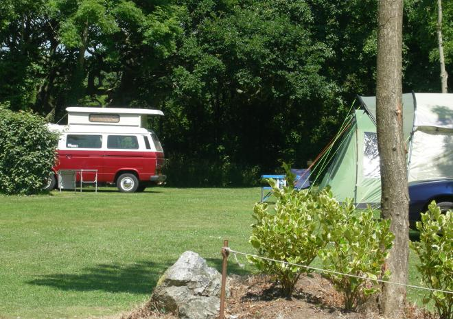 Campervan Campsite | Silver Sands Holiday Park | Lizard | Cornwall