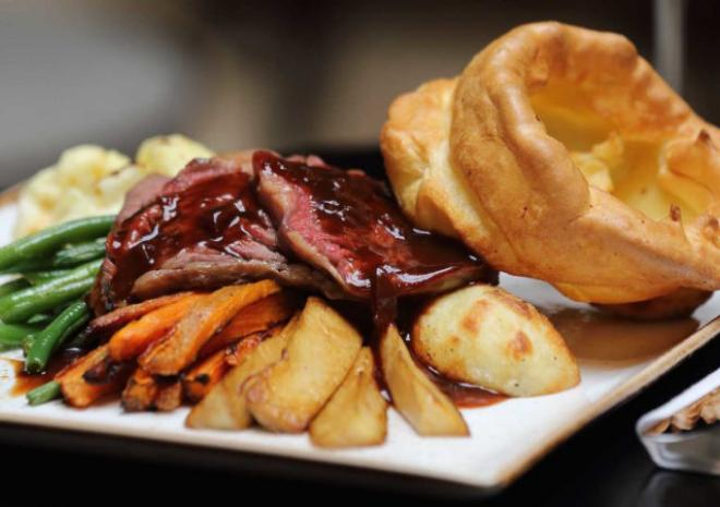 Carvery served every Sunday between 12pm and 2.30pm all year round