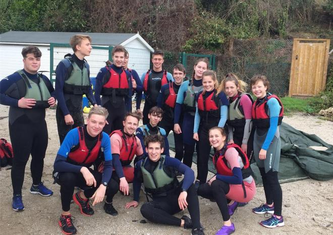Coasteering with Elemental in Falmouth