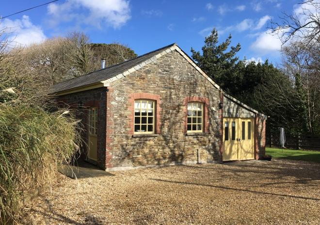 The Engine House within Caerhays Estate