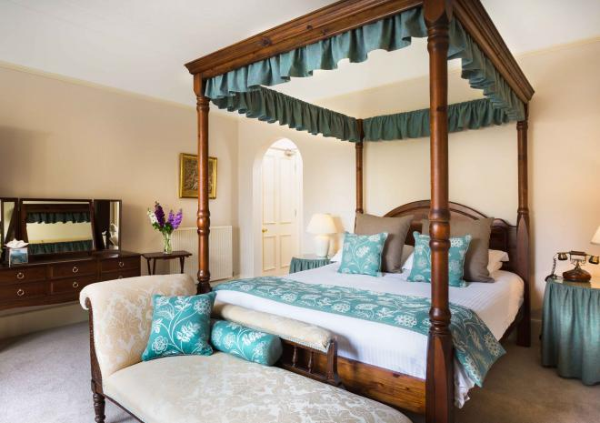 Penmorvah Manor Hotel, Falmouth, Cornwall - Master Double Room
