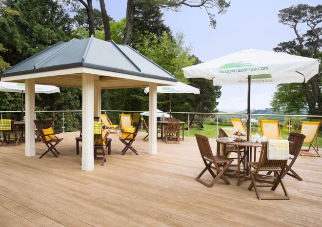 Penmorvah Manor Hotel, Falmouth, Cornwall - The Sundeck