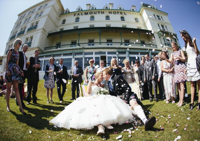 Wedding Venue Falmouth Cornwall | The Falmouth Hotel