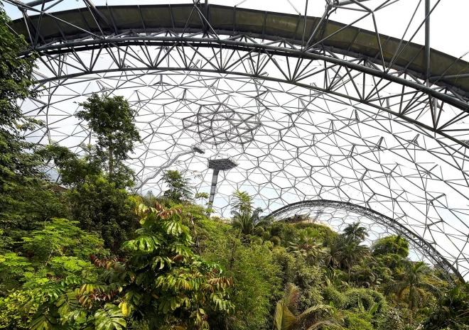 Rainforest Biome, Eden Project, Cornwall
