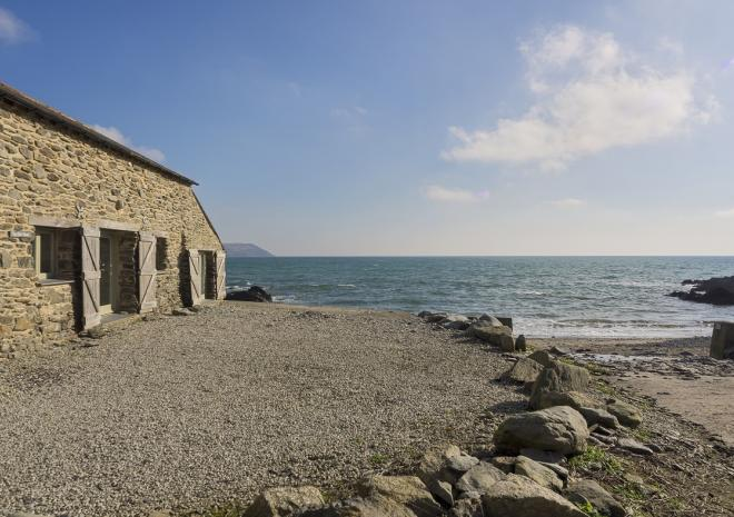 The Fish Sheds at West Portholland