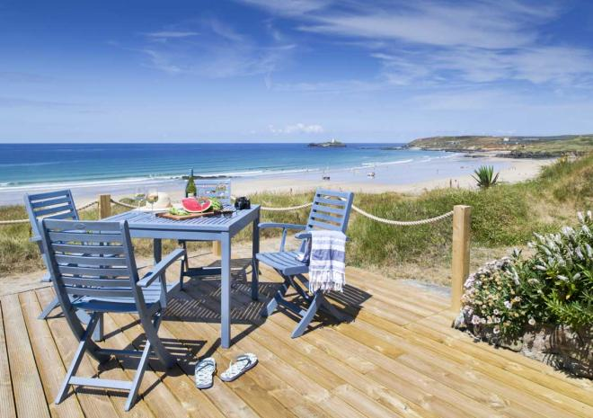 Surfside Beach Chalet Gwithian Forever Cornwall