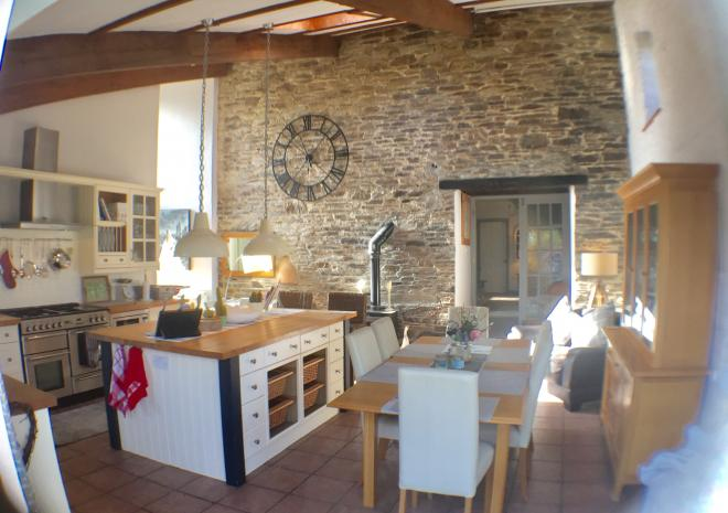 Cottages in Cornwall sleeps 12