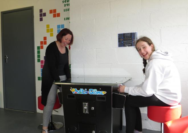 Lots to do in the Games Room at Little Trevothan