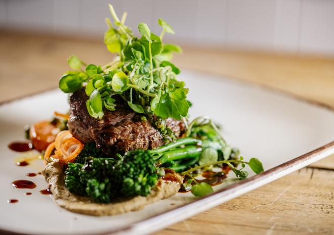 Cornish Lamb Steak - Summer Menu 2019