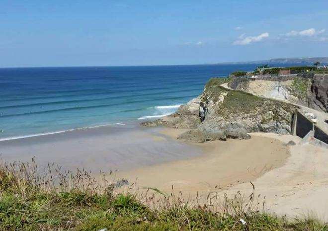 Great Western Beach Newquay, Beaches in Cornwall, Dune Dreams Newquay
