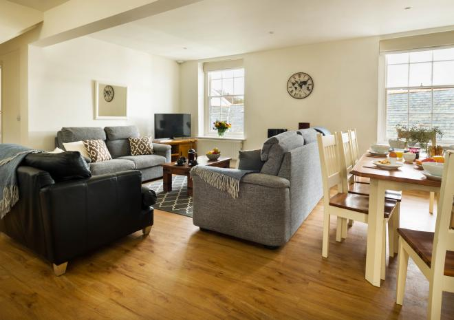 Boscawen can sleep up to 8 people | Self catering in Cornwall | Mylor Harbourside Holidays | Falmouth