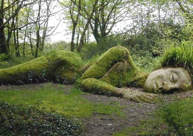 Visit Heligan Gardens only a short drive from the site