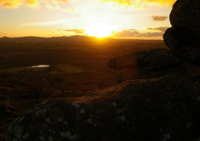 Winter Sunset | Helman Tor Nature Reserve | Bodmin | Cornwall