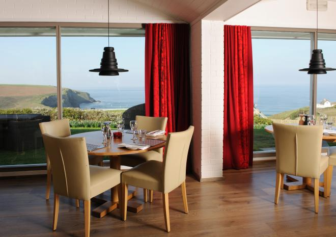Red Herring Restaurant, Bedruthan Steps Hotel