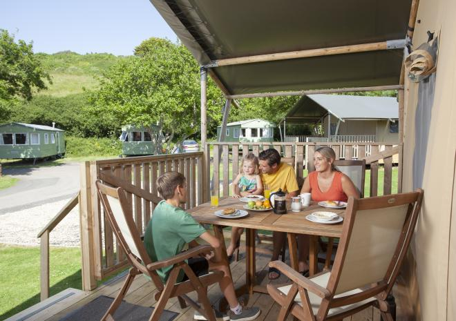 Glamping Holidays, Holywell Bay Holiday Park