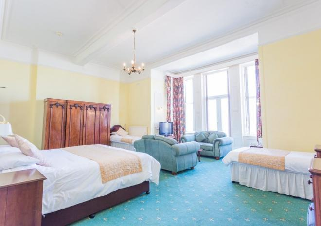 Hotel Victoria, Accommodation, Newquay North Cornwall