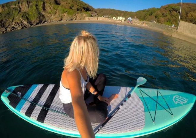 Stand Up Paddle-boarding in Cornwall