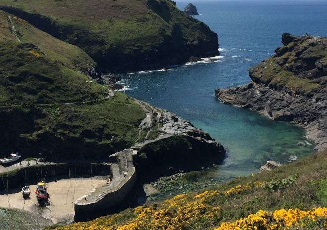 Historic harbour of Boscastle