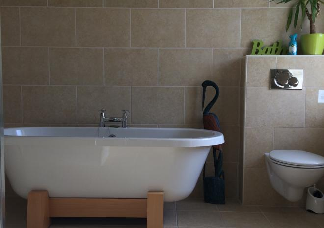 Enjoy a  long realxing soak after walking the beautiful north coast of Cornwall