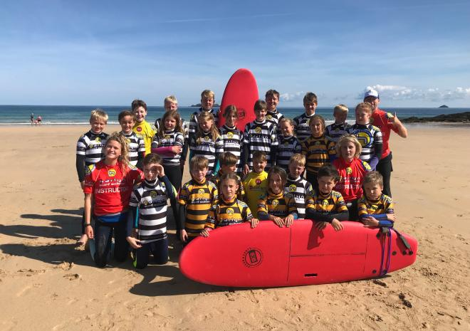 summer surf camp Cornwall