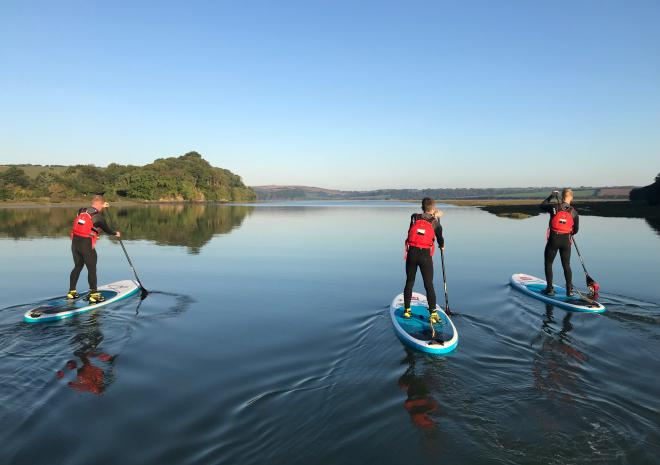 Paddleboarding tour Cornwall