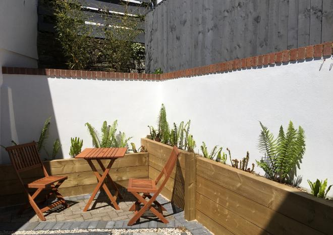 Gilliflower - private enclosed courtyard garden.