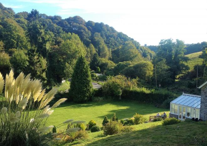 Polraen Country House Garden Party venue Looe Cornwall private functions