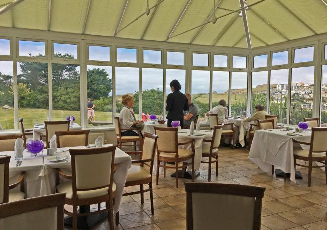 Beaucliffes Restaurant, Porth Veor Manor, Porth, Newquay, Cornwall