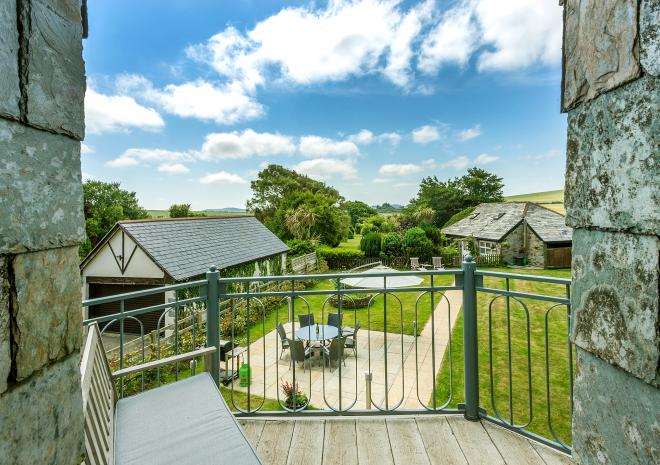 Old Barn, Tregonetha, luxury self catering, North Cornwall