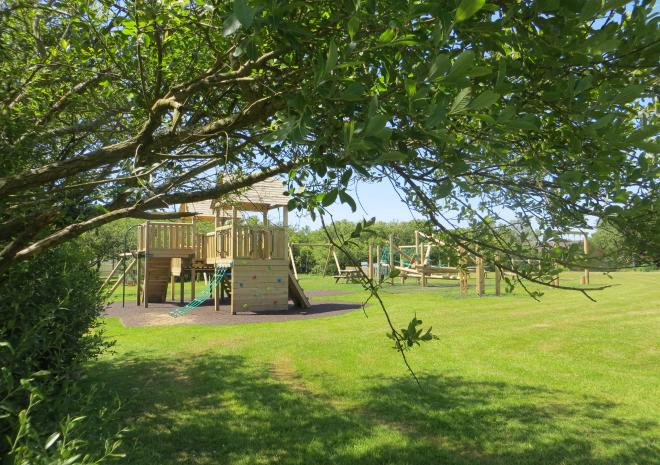 Our new adventure playground at Little Trevothan - kids love it!