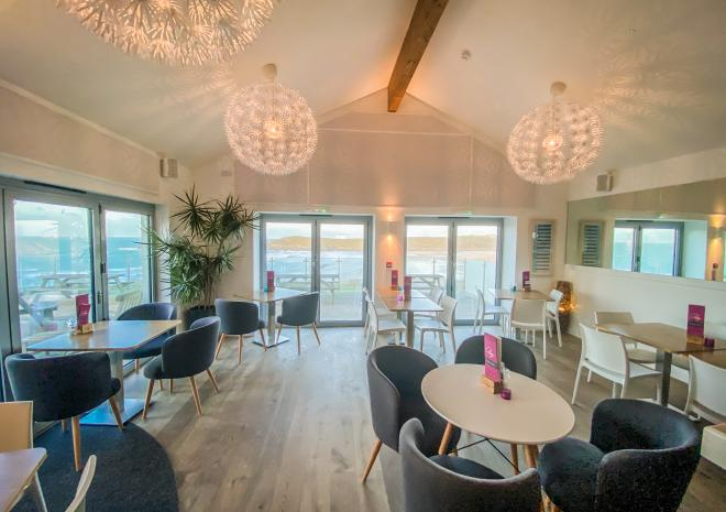 C-Bay Cafe, Bar, Bistro, Crantock Bay Apartments, Crantock, Newquay, Cornwall