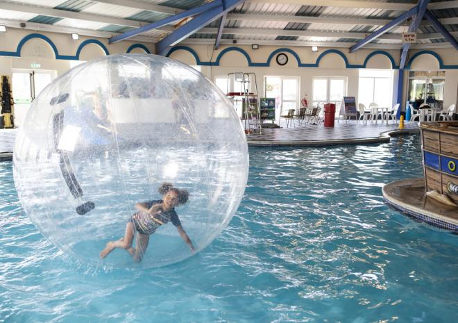 Indoor Swimming Pool, Mullion Holiday Park