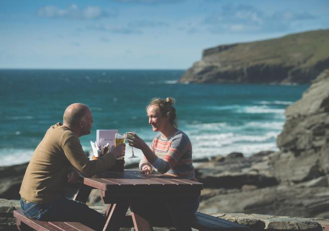 The Port William, Inn, Bed and Breakfast, Trebarwith Strand, Tintagel, Cornwal