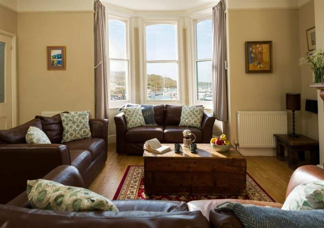 Kingsmoor Cottage on Mylor's Harbour front | Self catering in Cornwall | Mylor Harbourside Holidays | Falmouth