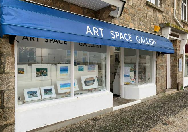 Things to do in Cornwall   Art Gallery Cornwall   Art Space Gallery   St Ives   Cornwall