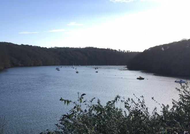Truro River at Malpas