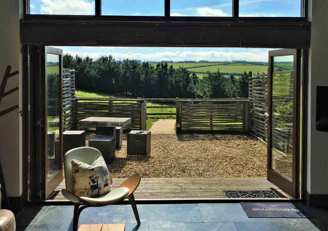 Eco Cottages at Merlin Farm Cornwall