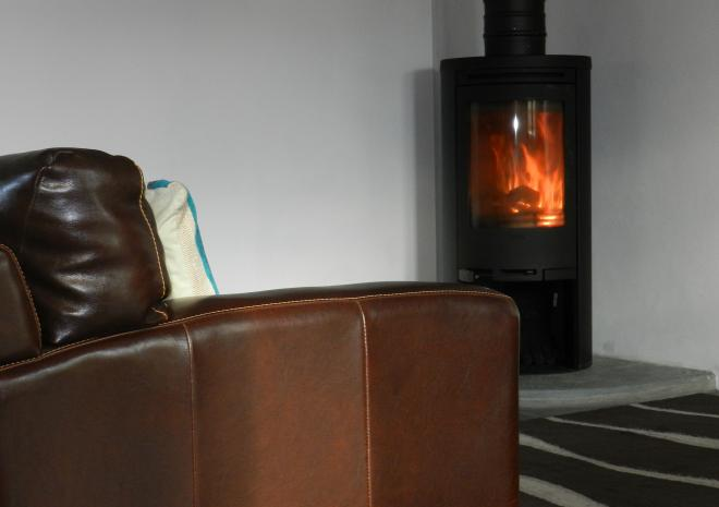 luxury four star cottage cornwall wood burner self-catering