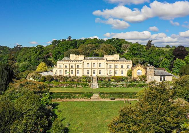 Pentillie Castle and Estate, Cornwall