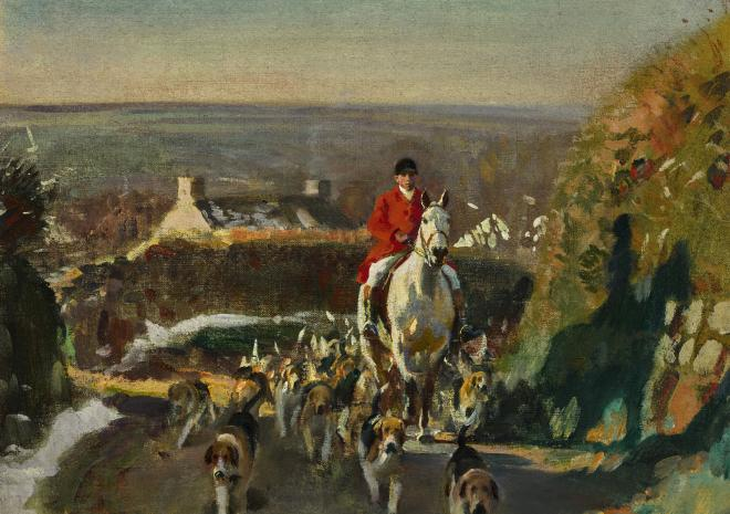Munnings In Cornwall Exhibition